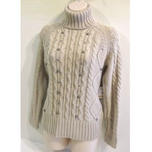 Relativity Chunky Knit Sweater Size PS